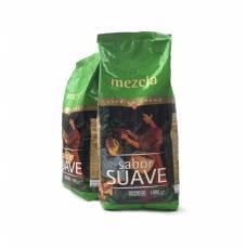 Кофе Hacendado №4 Mezcla Sabor Suaeve 1 кг зерно 80/20