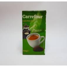 Кофе Carrefour Mezcla 0.25 кг (без кофеина),  молотый